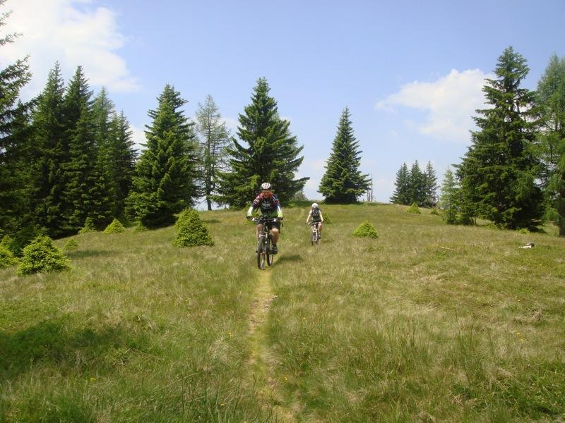 Kolmnock afdaling trail
