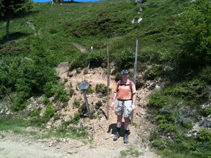 Wandeling vanaf de Lammsdorferhütte
