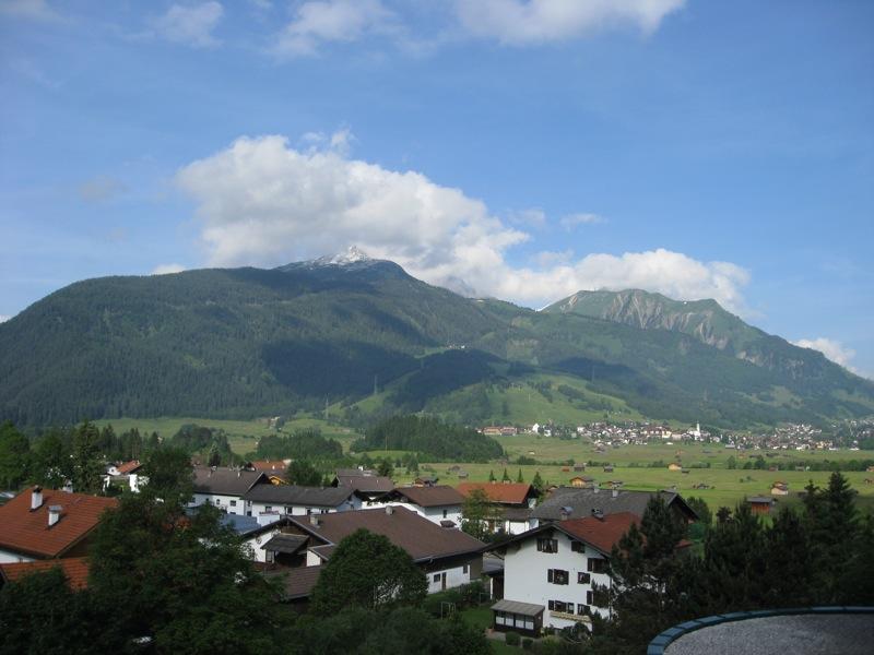 Uitzicht vanaf hotelkamer