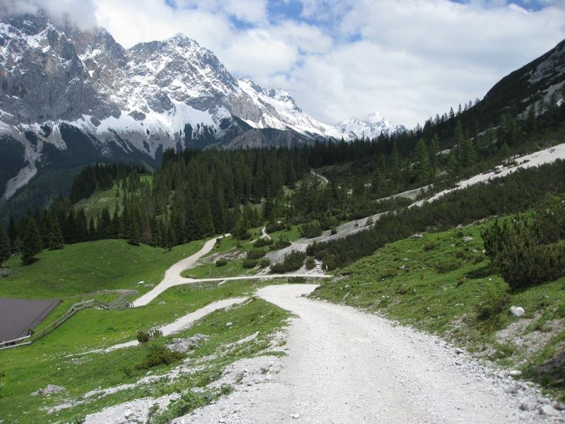 Onderweg naar de Seebensee (4)