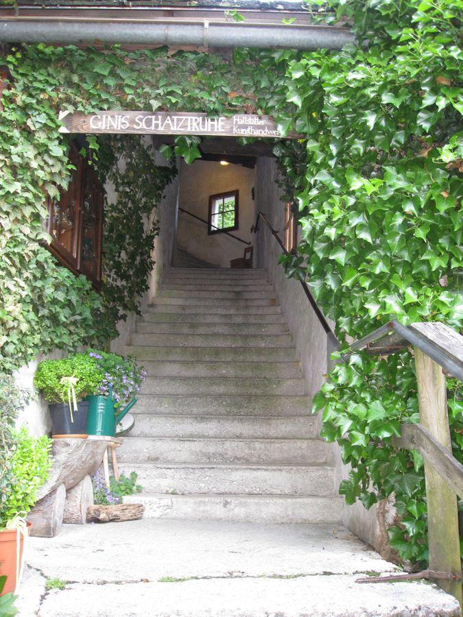 Overdekte trappen