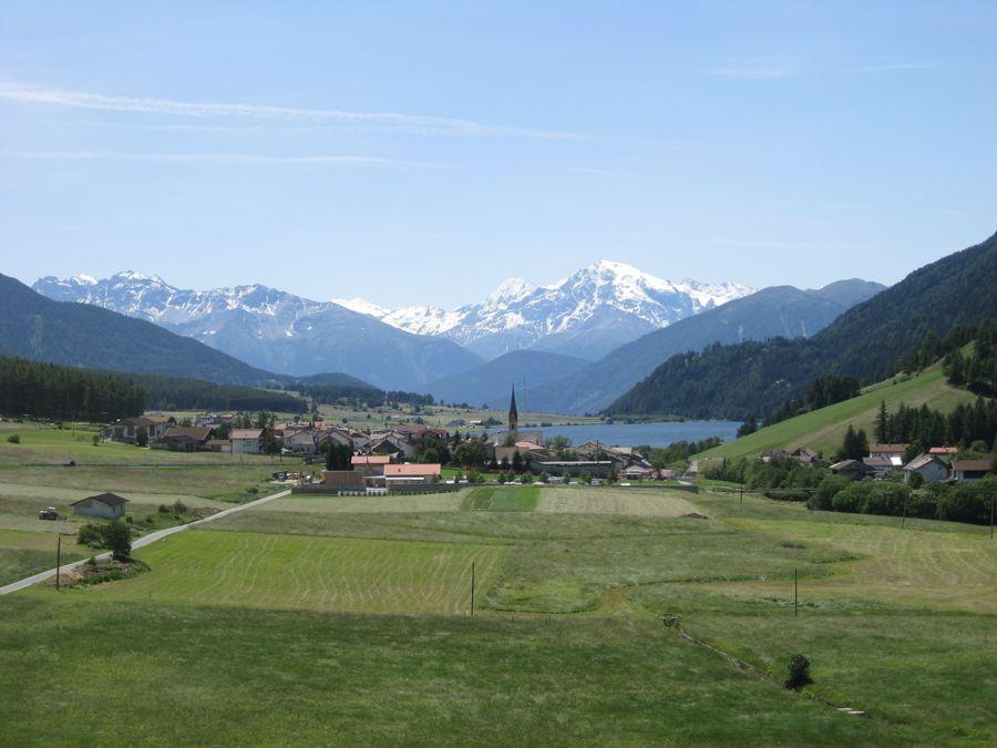 Uitzicht over het Lago di Mutta