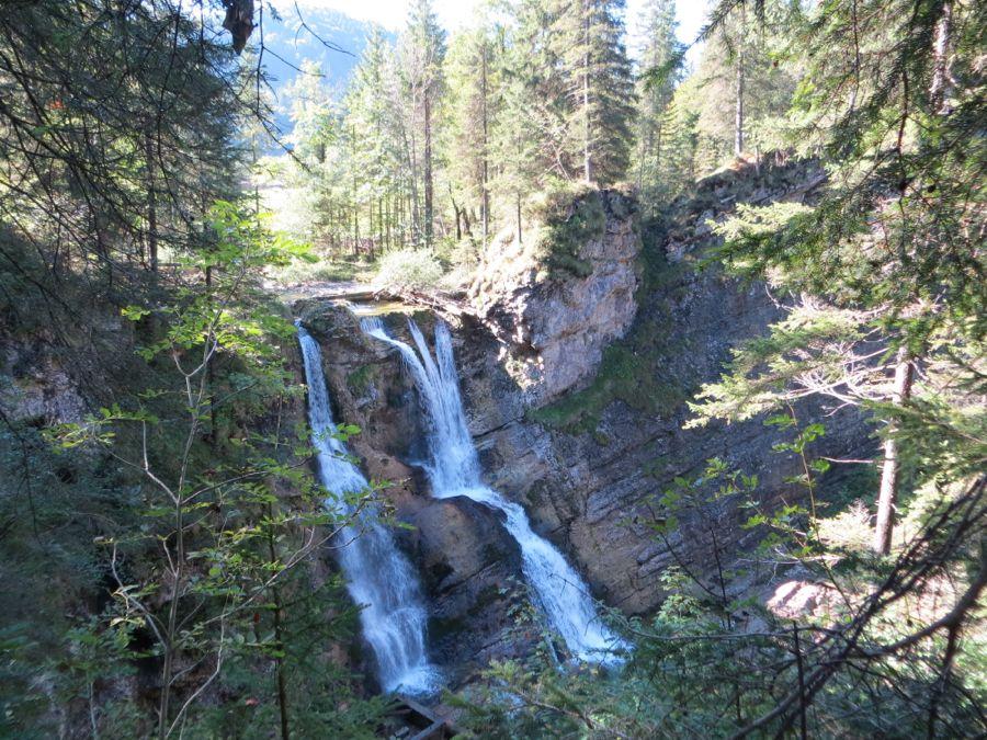 De eerste watervallen