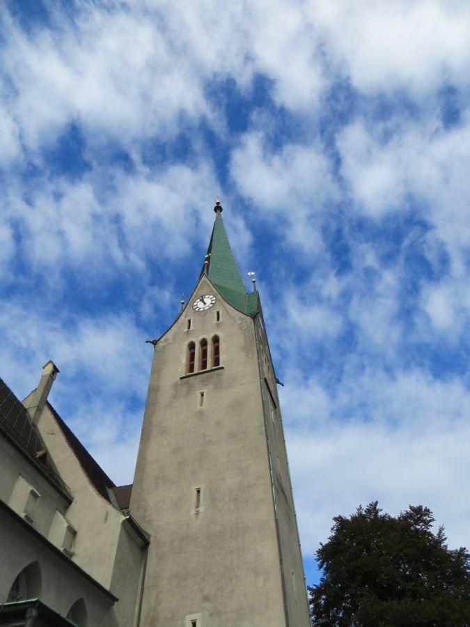 Toren van de kathedraal van Feldkirch