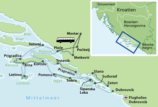 MTB Dalmatie