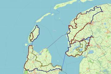 Onze fietsroute Noord Nederland 2020